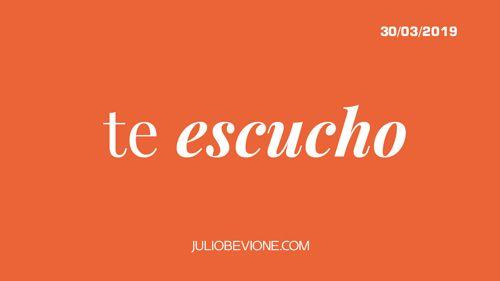 Julio Bevione - Te escucho